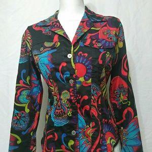 CHICOS Jacket Blazer Size 0 (S)